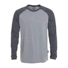 ETHICA-MEN'S RAGLAN LONG SLEEVE T-SHIRT - NEW