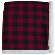 Lumberjack Sherpa Throw-60X70
