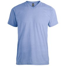 INITIAL-MEN'S V-NECK T-SHIRT
