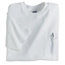 GILDAN ULTRA COTTON® POCKETED ADULT T
