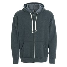 ETHICA-UNISEX HOODED FULL ZIP SWEATER