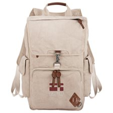 "Alternative® Deluxe 17"" Cotton Computer Backpack"