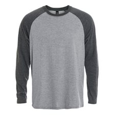 INITIAL-MEN'S RAGLAN LONG SLEEVE T-SHIRT