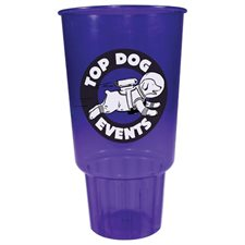 Jewel Translucent 32oz Stadium Car Cup