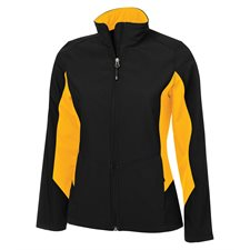 COAL HARBOUR® EVERYDAY COLOUR BLOCK SOFT SHELL LADIES' JACKET