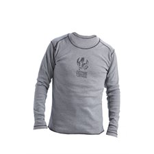 Long sleeve cover stictch shirt