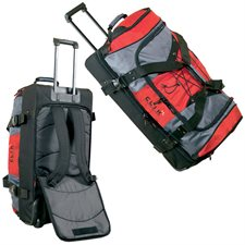 """30"""" extra large duffle bag / backpack on wheels"""