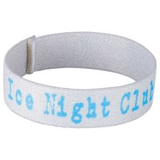 "Full Color 3 / 4"" Elastic Wristband"
