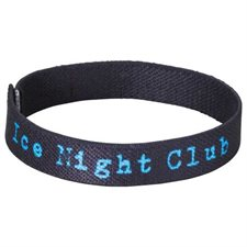 "Full Color 1 / 2"" Elastic Wristband"
