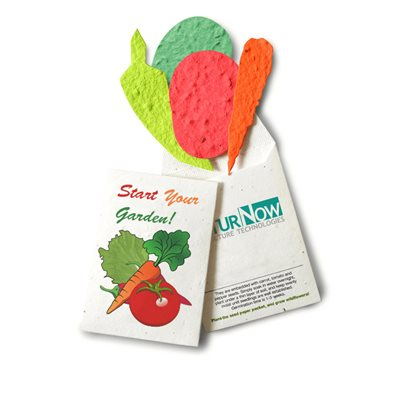 Salad Kit with Seeded Paper Pouch