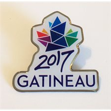 Official Gatineau 2017 Pin